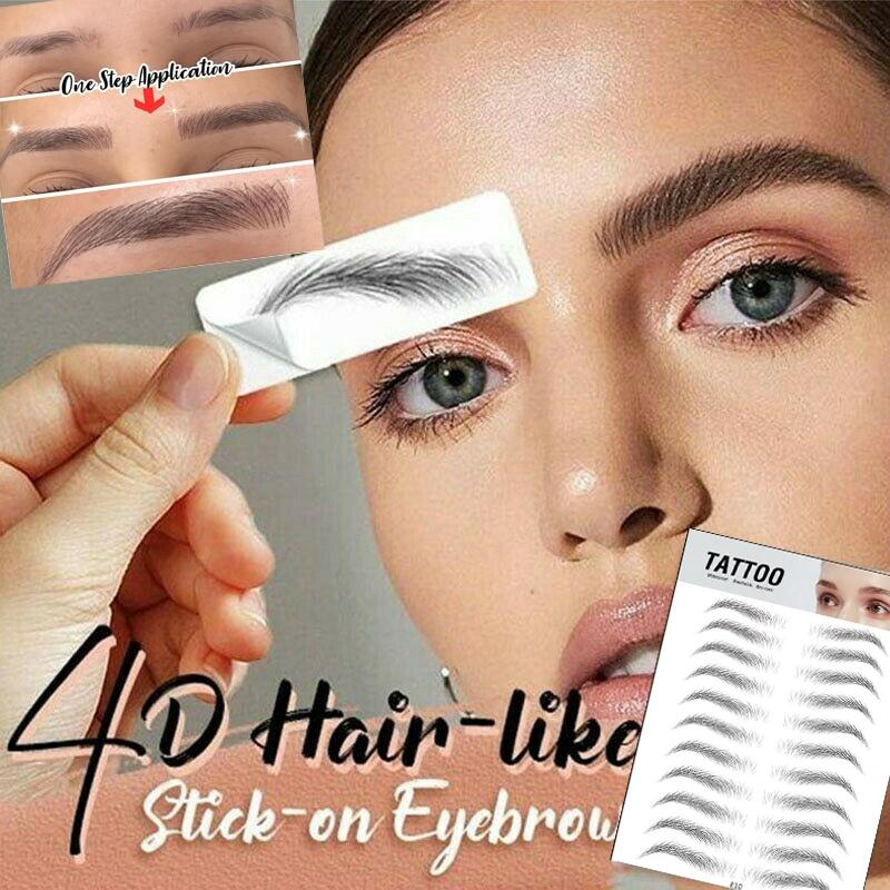 stickers eyebrow bionic makeup - KOLLMART