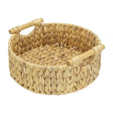 Load image into Gallery viewer, Annabel Trends - Round Basket – Water Hyacinth