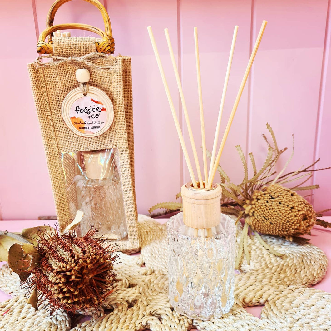Fossick & Co Reed Diffuser - Various Scents
