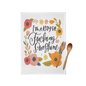 Pretty Sweary Tea Towels - Various Designs