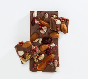 Charlotte Piper Fruit and Nut Milk Choc 50g