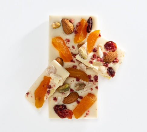 Charlotte Piper Fruit and Nut White Choc 50g