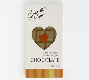 Charlotte Piper Caramelised White Belgian Chocolate 100g