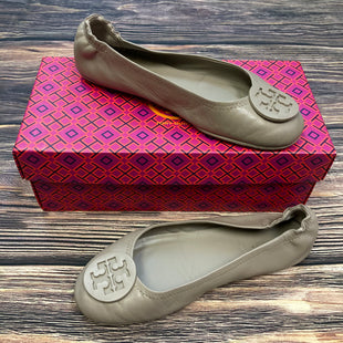 Primary Photo - BRAND: TORY BURCH STYLE: SHOES FLATS COLOR: TAUPE SIZE: 7.5 OTHER INFO: S;IGHT CREASING/ TORY LOGO SKU: 178-17824-10634