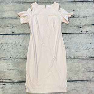 Primary Photo - BRAND: CALVIN KLEIN STYLE: DRESS SHORT SHORT SLEEVE COLOR: LIGHT PINK SIZE: M OTHER INFO: NEW! SIZE 10 COLD SHOULDER SKU: 178-178212-5081