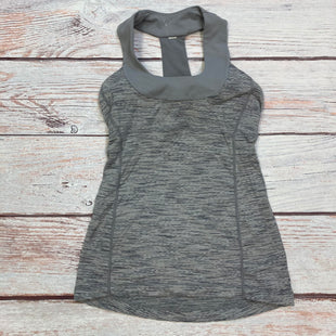 Primary Photo - BRAND: LULULEMON STYLE: ATHLETIC TANK TOP COLOR: GREY SIZE: S OTHER INFO: SIZE 4 SKU: 178-178203-4323