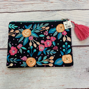 Primary Photo - BRAND: PIER 1STYLE: CLUTCH COLOR: FLORAL OTHER INFO: PIER 1 - NEW! BLACK/PREACH/BLUEPINK SKU: 178-178212-3251.