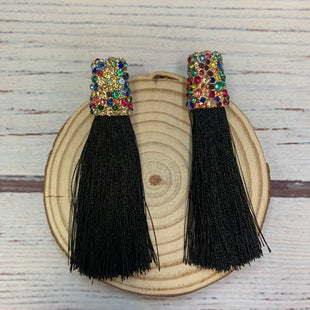 Primary Photo - BRAND: SUGARFIXSTYLE: EARRINGS COLOR: BLACK OTHER INFO: GOLD W/ RAINBOW CRYSTAL SKU: 178-178102-64043