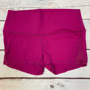 Primary Photo - BRAND: LULULEMON STYLE: ATHLETIC SHORTS COLOR: FUSCHIA SIZE: M OTHER INFO: SIZE 10 SKU: 178-178102-62542