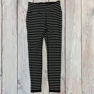 Primary Photo - BRAND: ATHLETA STYLE: ATHLETIC PANTS COLOR: STRIPED SIZE: S OTHER INFO: BLACK/WHITE SKU: 178-178212-3400
