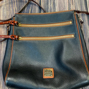 Primary Photo - BRAND: DOONEY AND BOURKE STYLE: HANDBAG DESIGNER COLOR: BLACK SIZE: MEDIUM OTHER INFO: CROSSBODY- SLIGHT CORNER WEAR SKU: 178-17883-15565