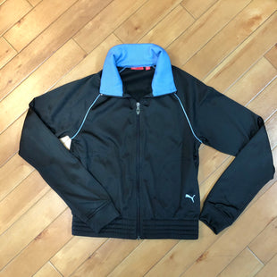Primary Photo - BRAND: PUMA STYLE: ATHLETIC JACKET COLOR: BLACK SIZE: S SKU: 178-178102-51814