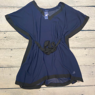 Primary Photo - BRAND:    FANTASIESTYLE: COVERUP COLOR: NAVY SIZE: XL OTHER INFO: FANTASIE - BLACK TRIMS SKU: 178-178102-58794