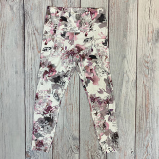 Primary Photo - BRAND: ATHLETA STYLE: ATHLETIC PANTS COLOR: FLOWERED SIZE: S OTHER INFO: WHITE/PINK/GREY/PURPLE SKU: 178-178212-3171