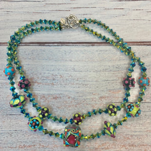 Primary Photo - STYLE: NECKLACE COLOR: MULTI OTHER INFO: GREEN/BLUE/BLACK/RED/PINK/YELLOW SKU: 178-178102-61759