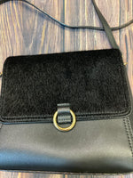 Photo #1 - BRAND: NEIMAN MARCUS <BR>STYLE: HANDBAG <BR>COLOR: BLACK <BR>SIZE: SMALL <BR>OTHER INFO: FAUZ FUR <BR>SKU: 178-178199-3075