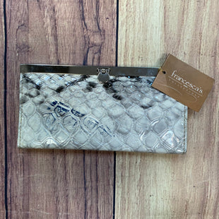 Primary Photo - BRAND: FRANCESCA'S STYLE: WALLET COLOR: SNAKESKIN PRINT SIZE: LARGE OTHER INFO: NEW! GREY/BLACK/SILVER SKU: 178-178102-56871
