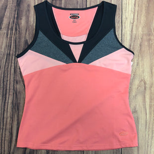 Primary Photo - BRAND: BOLLE STYLE: ATHLETIC TANK TOP COLOR: PEACH SIZE: M OTHER INFO: GREY NECK DETAILING SKU: 178-178212-882