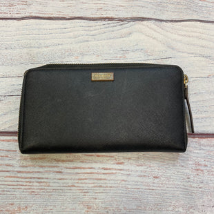 Primary Photo - BRAND: KATE SPADE STYLE: WALLET COLOR: BLACK SIZE: LARGE OTHER INFO: STAINING/SCUFFING/WEAR SKU: 178-178102-58934