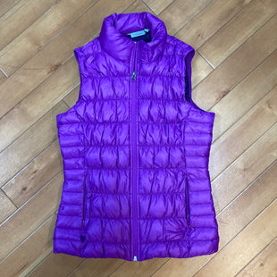Primary Photo - BRAND: ATHLETA STYLE: VEST DOWN COLOR: PURPLE SIZE: S SKU: 178-17883-15458