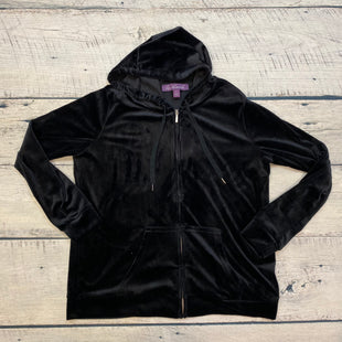 Primary Photo - BRAND: GLORIA VANDERBILT STYLE: ATHLETIC JACKET COLOR: BLACK SIZE: XL SKU: 178-178203-1291