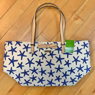 Primary Photo - BRAND: KATE SPADE STYLE: HANDBAG DESIGNER COLOR: PRINT SIZE: LARGE OTHER INFO: NEW W/ TAG STARFISH SKU: 178-178214-847