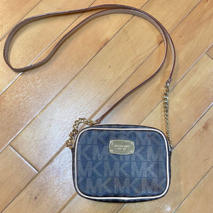 Primary Photo - BRAND: MICHAEL BY MICHAEL KORS STYLE: HANDBAG DESIGNER COLOR: MONOGRAM SIZE: SMALL OTHER INFO: CHOCOLATE/BROWN SKU: 178-178102-54550