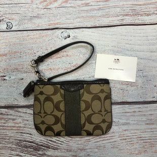 Primary Photo - BRAND: COACH STYLE: WRISTLET COLOR: BROWN SKU: 178-178166-4568