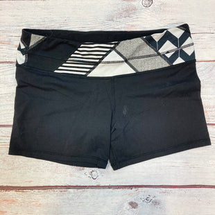 Primary Photo - BRAND: LULULEMON STYLE: ATHLETIC SHORTS COLOR: BLACK SIZE: M OTHER INFO: SIZE 10-WHITE/BLACK BAND SKU: 178-178102-62543