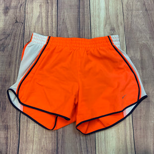 Primary Photo - BRAND: NIKE APPAREL STYLE: ATHLETIC SHORTS COLOR: ORANGE SIZE: S OTHER INFO: WHITE/NAVY TRIMS SKU: 178-178102-57048