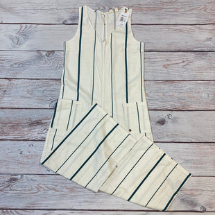 Primary Photo - BRAND: ROXY STYLE: DRESS LONG SLEEVELESS COLOR: CREAM SIZE: S OTHER INFO: NEW/PANTS/BLUE STRIPE SKU: 178-17853-360