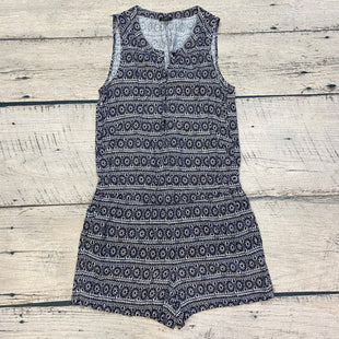 Primary Photo - BRAND: ANN TAYLOR LOFT STYLE: ROMPER SHORT SLEEVELESS COLOR: BLACK WHITE SIZE: S OTHER INFO: ROMPER SKU: 178-17853-1071