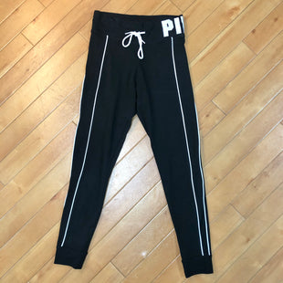 Primary Photo - BRAND: PINK STYLE: ATHLETIC PANTS COLOR: BLACK WHITE SIZE: M SKU: 178-178182-3078