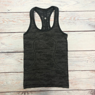 Primary Photo - BRAND: LULULEMON STYLE: ATHLETIC TANK TOP COLOR: GREY SIZE: S OTHER INFO: SIZE 4 SKU: 178-178224-85
