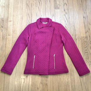 Primary Photo - BRAND: ISAAC MIZRAHI LIVE QVC STYLE: JACKET OUTDOOR COLOR: MAGENTA SIZE: XXS SKU: 178-178192-1087