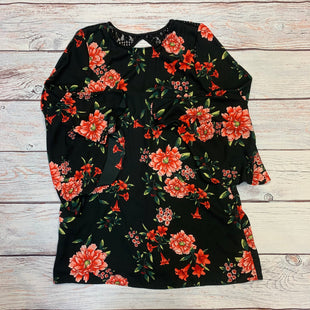 Primary Photo - BRAND: MIAMI STYLE: DRESS SHORT LONG SLEEVE COLOR: FLORAL SIZE: M OTHER INFO: BLACK/PINK/GREEN SKU: 178-178196-53