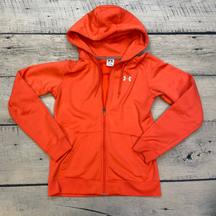 Primary Photo - BRAND: UNDER ARMOUR STYLE: ATHLETIC JACKET COLOR: ORANGE SIZE: S SKU: 178-178102-57325