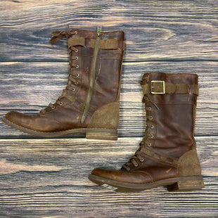 Primary Photo - BRAND: TIMBERLAND STYLE: BOOTS KNEE COLOR: BROWN SIZE: 8.5 OTHER INFO: COMBAT STYLE-SCUFFING SKU: 178-178102-54331