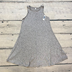 Primary Photo - BRAND: OLD NAVY STYLE: DRESS SHORT SLEEVELESS COLOR: GREY SIZE: XS OTHER INFO: NEW! SKU: 178-178102-52847