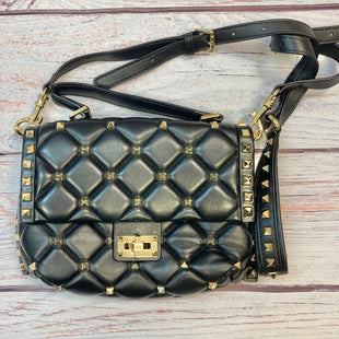 Primary Photo - STYLE: HANDBAG LEATHER COLOR: BLACK SIZE: SMALL OTHER INFO: QUILTED W/ GOLD STUDS SKU: 178-178102-59045