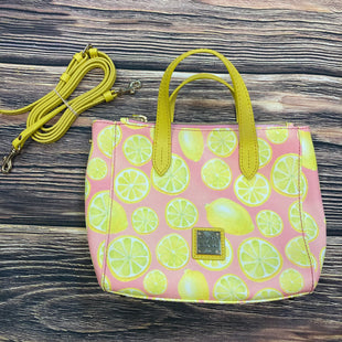 Primary Photo - BRAND: DOONEY AND BOURKE STYLE: HANDBAG DESIGNER COLOR: YELLOW SIZE: SMALL OTHER INFO: WITH CROSSBODY STRAP- LEMONS SKU: 178-17883-15481