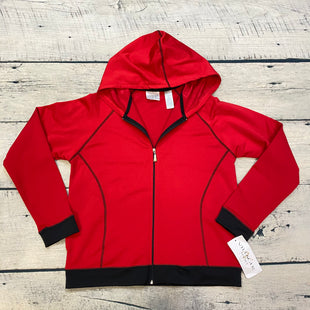 Primary Photo - BRAND:    VILLAGE SPORTSTYLE: ATHLETIC JACKET COLOR: RED BLACK OTHER INFO: VILLAGE SPORT - SKU: 178-178168-4888