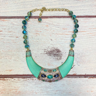 Primary Photo - BRAND:  HEIDI DAUS STYLE: NECKLACE COLOR: MULTI OTHER INFO: HEIDI DAUS - NEW! TEAL/AQUA/BLUE/PURPLE/PEACH/GOL SKU: 178-178102-62671