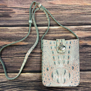 Primary Photo - BRAND: BRAHMIN STYLE: HANDBAG DESIGNER COLOR: MINT SIZE: SMALL OTHER INFO: MINT/CORAL ALLIGATOR PRINT SKU: 178-178214-510
