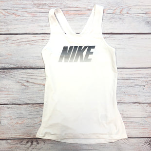 Primary Photo - BRAND: NIKE STYLE: ATHLETIC TANK TOP COLOR: WHITE SIZE: XS OTHER INFO: BLACK/GREY LOGO SKU: 178-178224-80