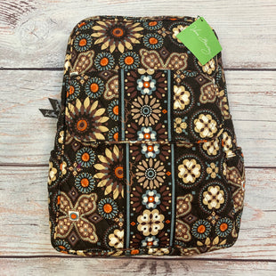 Primary Photo - BRAND: VERA BRADLEY STYLE: BACKPACK COLOR: PRINT SIZE: MEDIUM OTHER INFO: NEW! BROWN/TAN/BLUE/ORANGE SKU: 178-178102-64093