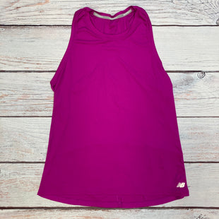 Primary Photo - BRAND: NEW BALANCE STYLE: ATHLETIC TANK TOP COLOR: PURPLE SIZE: M SKU: 178-178102-62790