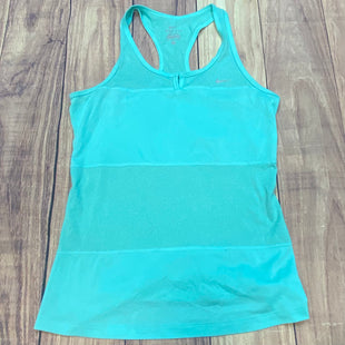 Primary Photo - BRAND: NIKE STYLE: ATHLETIC TANK TOP COLOR: AQUA SIZE: S SKU: 178-178212-2228