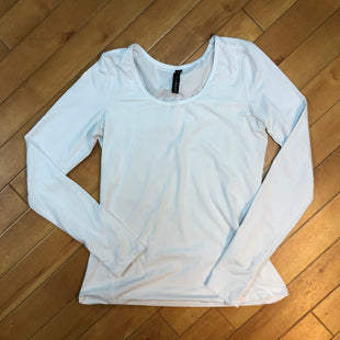 Primary Photo - BRAND: 90 DEGREES BY REFLEX STYLE: ATHLETIC TOP COLOR: WHITE SIZE: S SKU: 178-17853-351