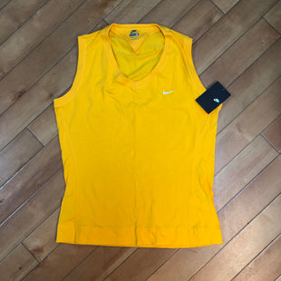 Primary Photo - BRAND: NIKE STYLE: ATHLETIC TANK TOP COLOR: YELLOW SIZE: M SKU: 178-17853-342